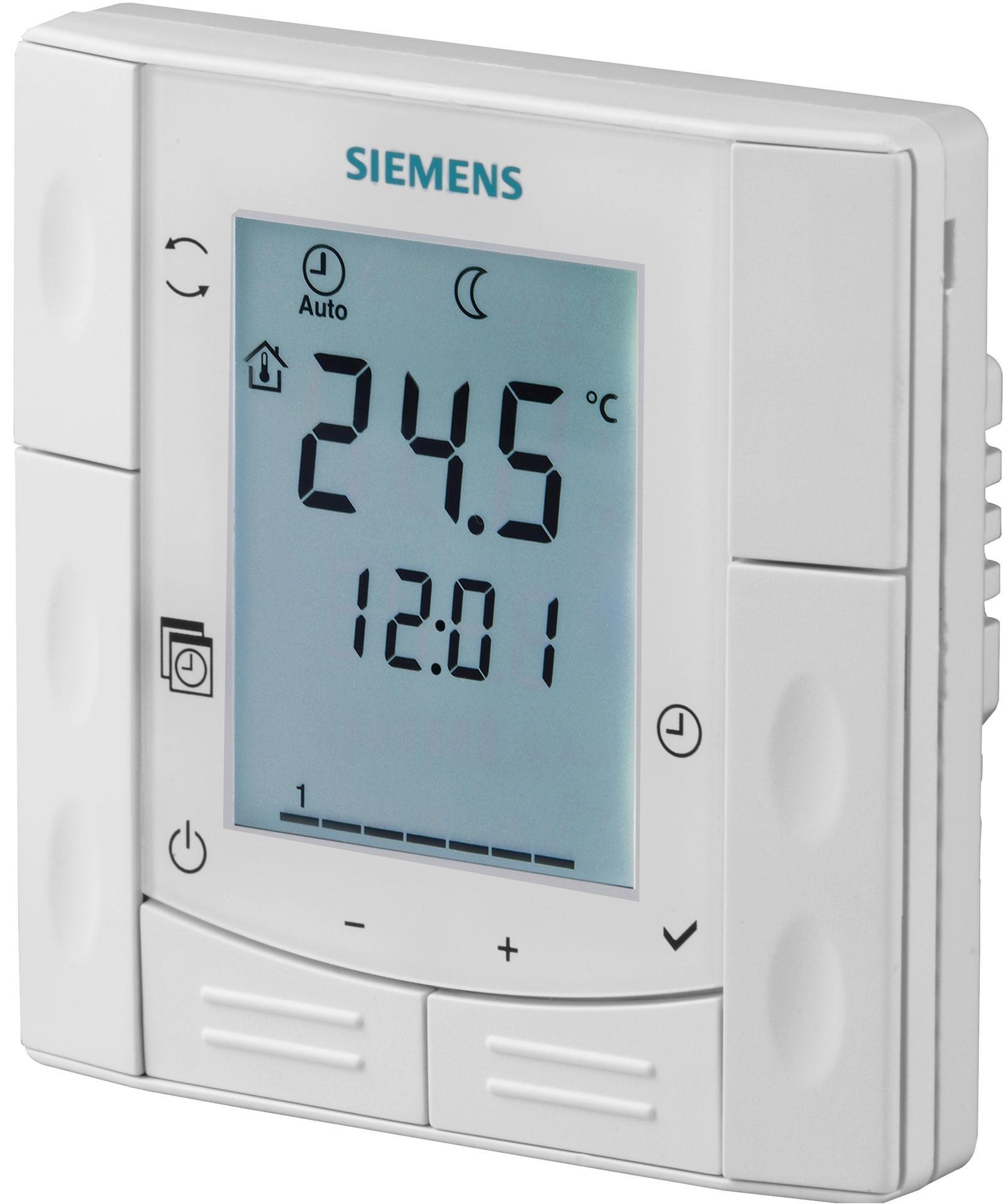 комнатный термостат siemens rdh10 инструкция